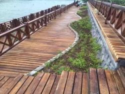 长沙防腐木地板