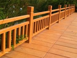 长沙防腐木护栏