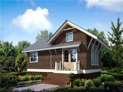 长沙防腐木木屋